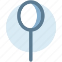 breakfast, cutlery, flatware, spoon, tableware icon