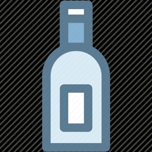 bar, bottle, whisky bottle, wine, wine bottle icon
