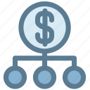 finance, investment, money, money strategy, plan, scheme icon