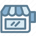 business, commerce, retail, shopping, store icon
