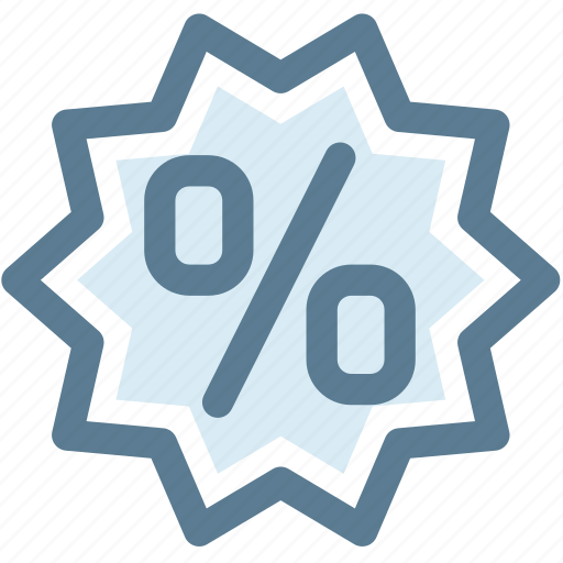 discount, offer, percentage, promotion, sale icon