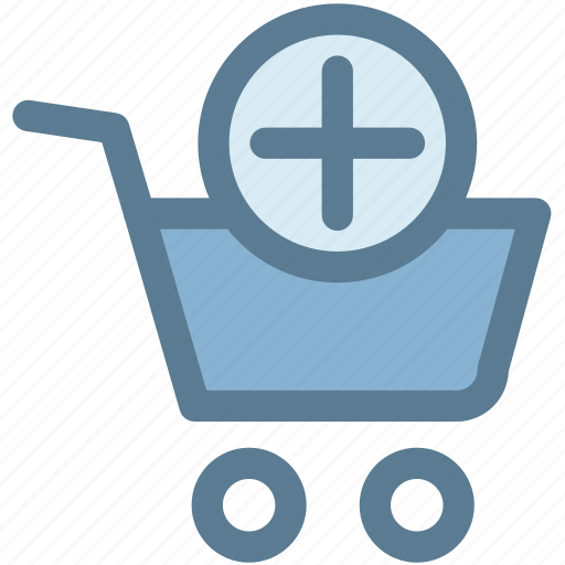add, check out, groceries, shopping cart, shopping cart add, store icon