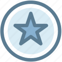 ratings, rising star, shooting star, star, star badge icon