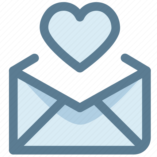 email, favorite, letter, love, love letter, send icon