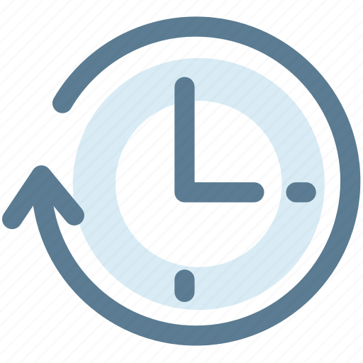 clock, clockwise, move, time, timing icon