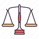 balance, business, legal, marketing, seo icon