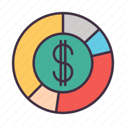 business, currency, management, marketing, money, seo icon