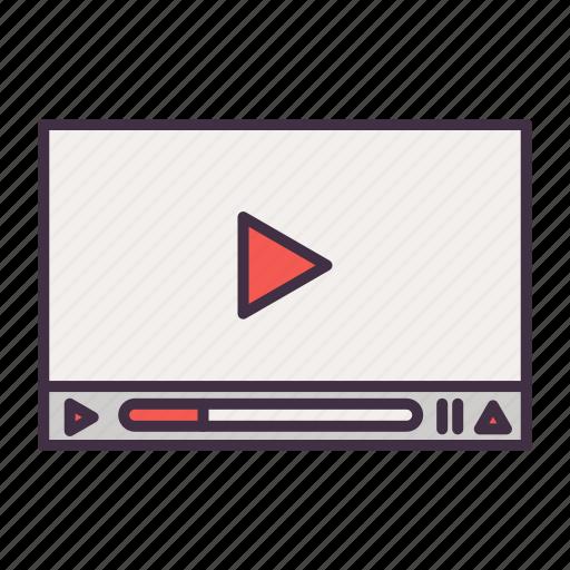 business, film, marketing, seo, video icon