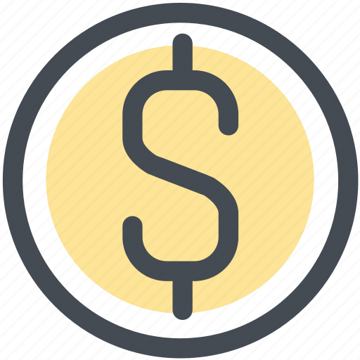 budget, coin, currency, dollar, money icon