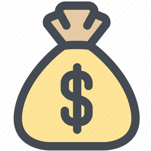 bag, budget, cash, dollar, money, money bag icon