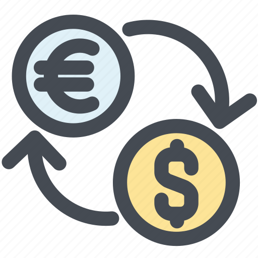 charge, dollar, exchange, fees euro, money, money business icon