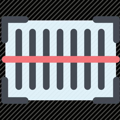 barcode, barcode scanner, capture, code, scan, scanner icon