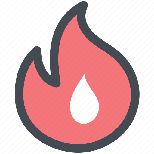 blaze, fire, flame, flare, hot icon