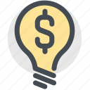 business idea, dollar, finance, financialidea, money icon
