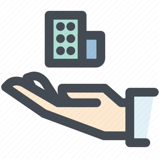 business, hand, insurance, property, property insurance, protection icon