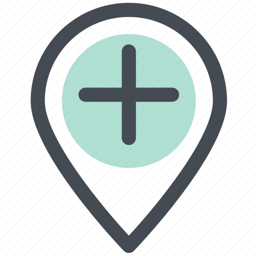 home, location, map, map marker, navigation icon