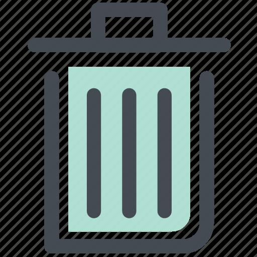 bin, recycle, recycle bin, recycling bin, trash icon