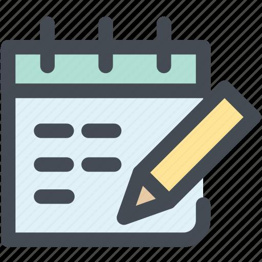 booking, calendar, daily calendar, monthly calendar, schedule icon