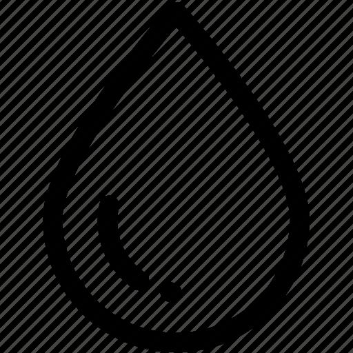 biology, drink, drop, droplet, liquid, water icon