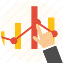 business, chart, finance, financial, graph, management, marketing icon