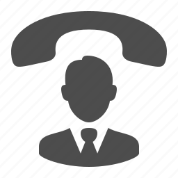 businessman, call, conference, contact, man, phone, user icon