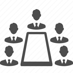 business, businessman, businessmen, conference, group, leader, male, meeting, men, people, table, team, users icon