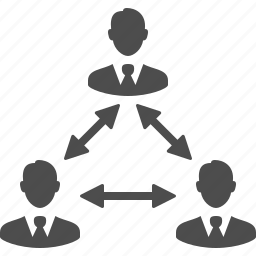 business, businessman, businessmen, group, hierarchy, male, man, men, people, team, users icon