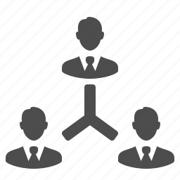 business, businessman, businessmen, corporation, group, hierarchy, leader, male, man, men, people, team, users icon