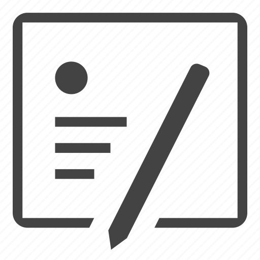 add, document, edit, format, list, new, note, page, supplies, text, write icon