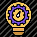 indicator, innovation, metric, process, process and metric, creative, idea