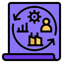 business, business model, business process, management, renovate, renovate business model icon