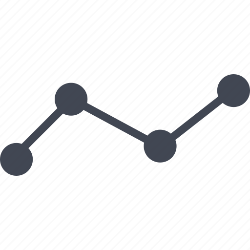 analytics, business chart, chart, lines, results icon