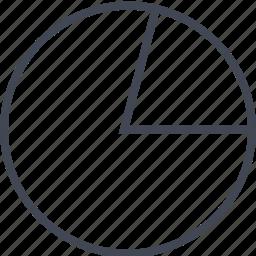 chart, circle, circle chart, pie chart icon