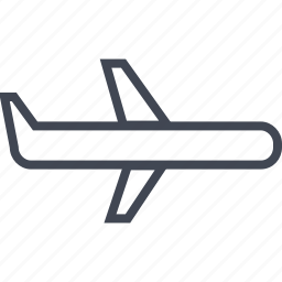 airline, fly, jet, travel deal icon
