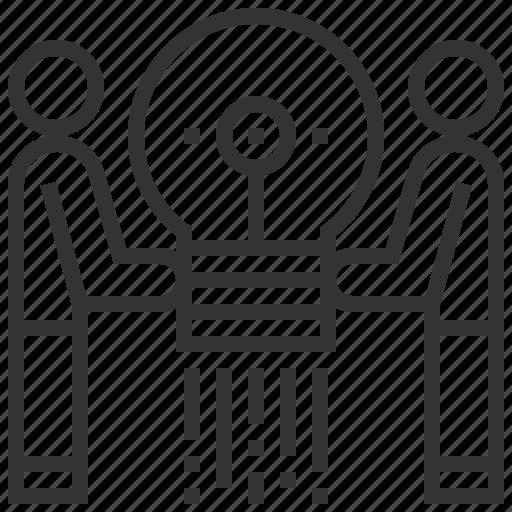 business, businessman, motivation, skills, team, teamwork icon