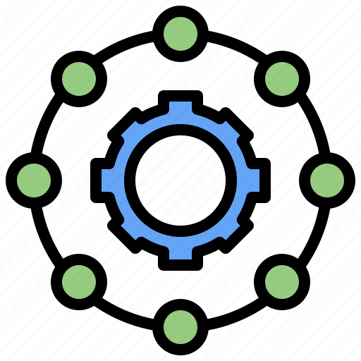 boss, business, group, hierarchical, network, networking, people, structure, team icon