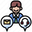 boss, business, human, interview, job, meeting, people, resources, reunion, teamwork icon