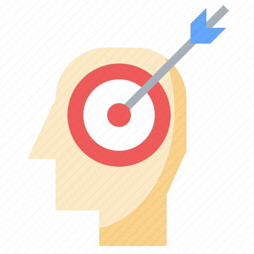 aim, and, business, career, finance, goal, goals, growth, progress, success icon
