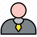 businessman, profile, user, avatar, account