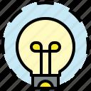 idea, bulb, creative, concept, light