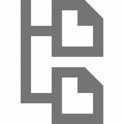 material, order, outline, page, position, priority icon