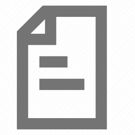 content, document, edit, file, material, note, page icon