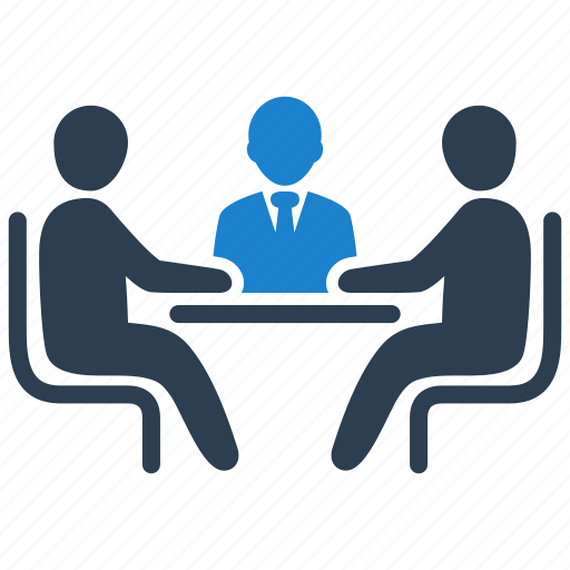 business, discussion, meeting icon