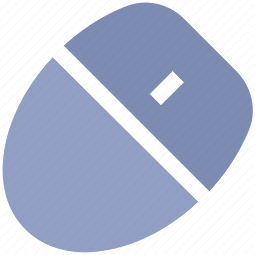 Computer Mouse Cursor Pointer Blue Icon - Gonzagasports