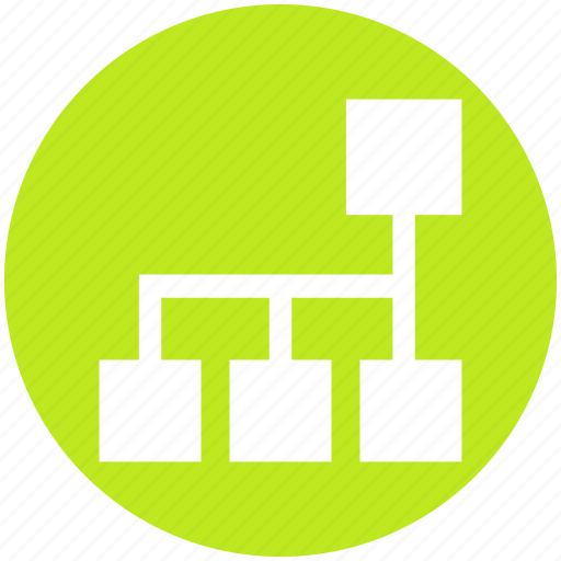 business, connection, data, diagram, internet, network icon