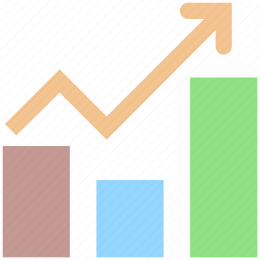 Arrow, business, chart, graph, result, up icon - Download on Iconfinder