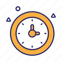 business, clock, deadline, time, timer icon