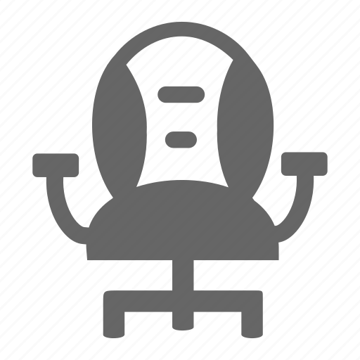 business, chair, manager, office, workroom icon