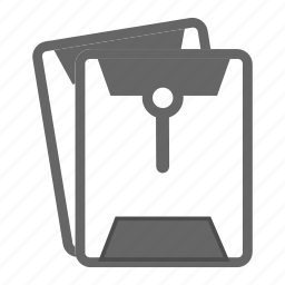 business, document, letter, office, workroom icon