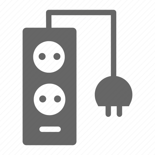 business, electric, office, plug, workroom icon